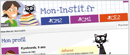 Mon-instit.fr, site de soutien scolaire pour les 8-11 ans | Presse-Citron
