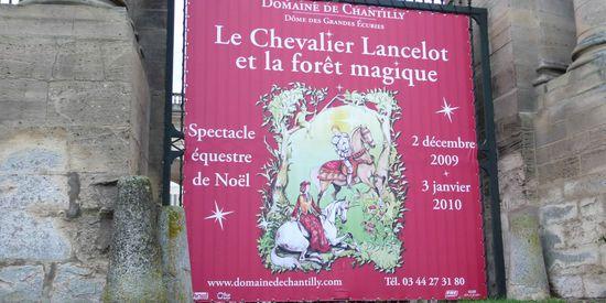 Chantilly, affiche