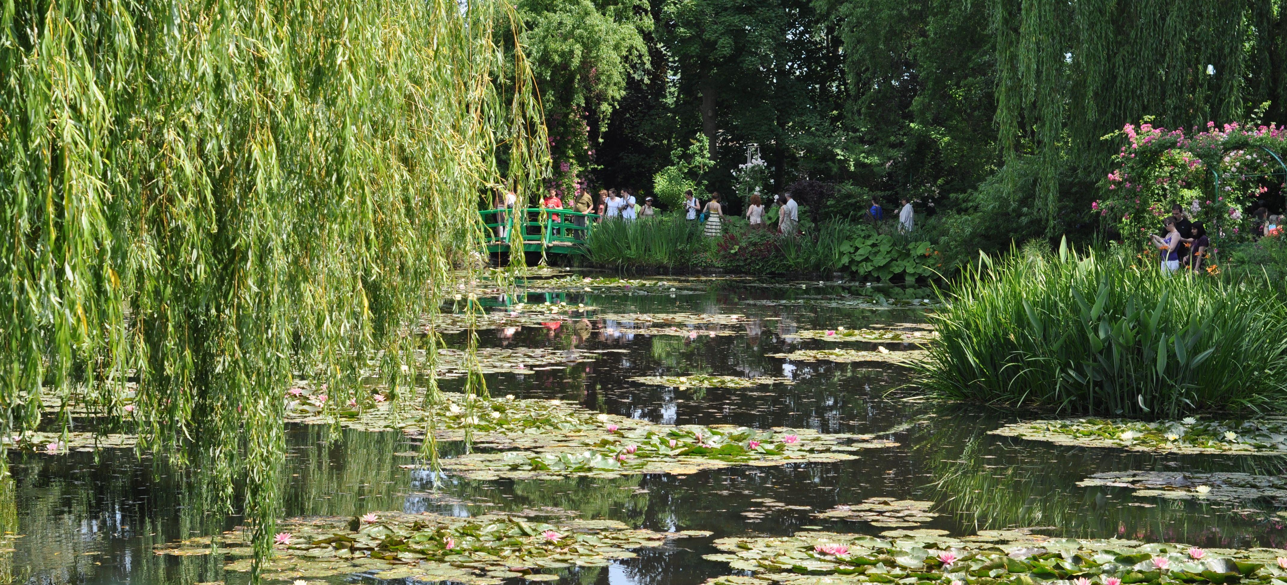 Les jardins de Monet  Giverny fait quoi maman