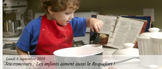 Jeu-concours _ Les enfants aiment aussi le Roquefort ! - Les recettes Roquefort Papillon