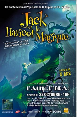 ALHAMBRA - PARIS | Agenda | Jack et le haricot magique