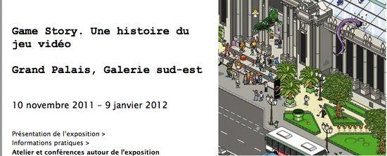 """Exposition """"Game Story. Une histoire du jeu vidéo Grand Palais, Galerie sud-est"""" _ [Rmngp]"""