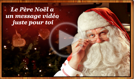 PNP - Père Noël Portable SFR - Message vidéo personnalisé