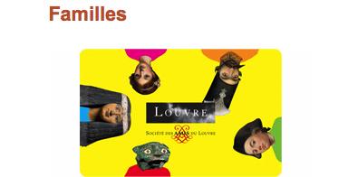La carte Louvre familles | Musée du Louvre